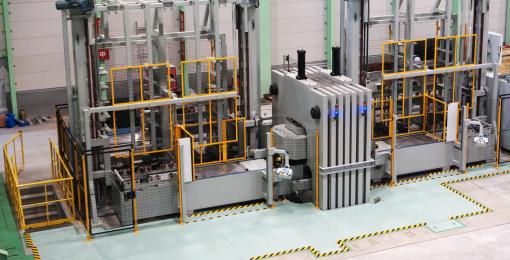 橡皮垫成形机 (EMC)