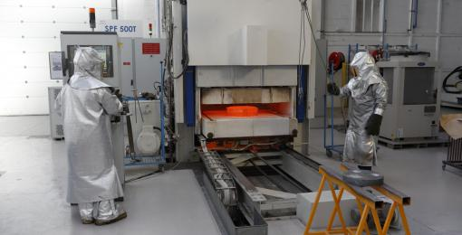 Superplastic Forming Press (SPF)
